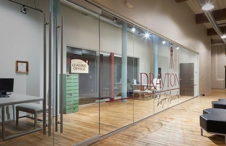 Drayton Mills Lofts Leasing Office